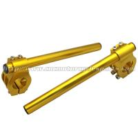 High Strength 52mm Clip On Motorcycle Handlebars For ZX7R ZX9R TL1000S Manufactures