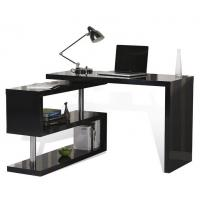 Adjustable Height Office Table , T Corner L Shaped Computer Desk With Drawers Manufactures