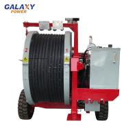 China Hydraulic Tensioner Transmission Line Equipment Max Intermittent Tension 2x45/1x90KN on sale
