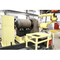 Industrial Boiler Robotic Welding Workcell For Military Pressure Vessels
