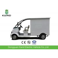 Mini Dimensions Electric Cargo Truck with Stainless Steel Cargo Box 500kg Payload Manufactures