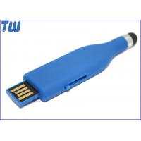 Rubber Oil Finished 8GB USB Memory Stick Slip UDP Chip Soft Touch Manufactures