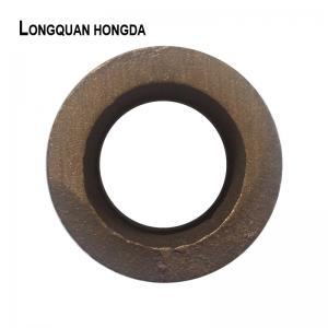 Brass / Bronze Aluminum Sand Casting Parts Custom Design For Machinery Manufactures