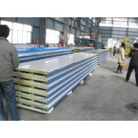 Corrosion Resistance Insulated  Steel Prefab House , Mineral Wool Sandwich Panel Manufactures