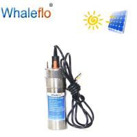 China Whaleflo Flow 8/12/20LPM 12V/24V DC Submersible Solar Energy Water Pump for Outdoor Garden Deep Well Car Wash on sale