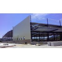 Custom Residential Industrial Steel Structures , Sandwich Panels Light Steel Structure Warehouse Manufactures