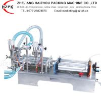 Stable Semi Auto Bottle Filling Machine 0.4 - 0.6 Mpa CE Authorized Manufactures
