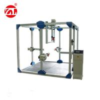 PLC Control Furniture Test Machine Industrial Aluminum Strength Durability Tester For Chest Desk And Bed Manufactures