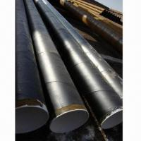 Spiral Welded Steel Pipes, 3PE Coating for Oil and Gas Transmission for sale