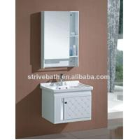 modern white pvc bathroom cabinet Manufactures