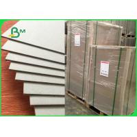 China 1mm 1.5mm 2mm Thick Gray Board Paper , Thick Cardboard Sheets For Notebook on sale