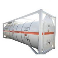 T6, T10, T14, Anhydrous Hydrogen Fluoride ISO Tank Container 20FT/30FT for Road Transport Un1052 Ahf 32K2