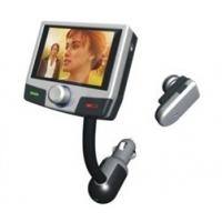 Bluetooth Handsfree Car Kit with Mp4 Player