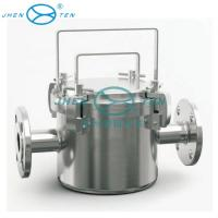 Food / beverage Industrial Filter Housing stainless steel magnetic fluid pipe filter housing Manufactures