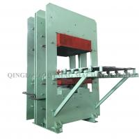 Buy cheap Column Type Rubber Moulding Machine / Rubber Mold Vulcanizer PLC Control from wholesalers