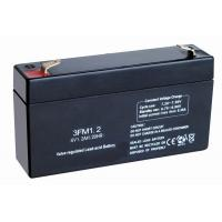 Buy cheap 6v 1.2ah Self-discharge Valve Regulated Lead Acid Battery Sealed for Medical from wholesalers