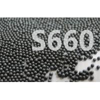 Surface Treatment Cast Steel Shot S660 Round Balls Metal Black Color Manufactures
