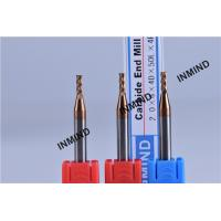 HRC55  TiSiN TiAlN Coating , Carbide End Mill , 2*6*4D*50L*4F ,  WF25 , Carbide Cutting tools Manufactures