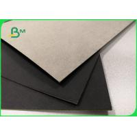 1mm 2mm Single Black Coated Cardboard Sheets For Gift Boxes Good Stiffness