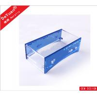 Square Bending Acrylic Holder Stand For Office / Car / Toilet Manufactures