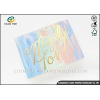 Recyclable colorful printing handwork paper happy birthday paper greeting cards Manufactures