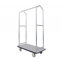 Sturdy Tubular Hotel Luggage Display Stand Extravagant luggage collection trolley Manufactures
