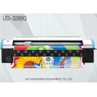 Canvas Eco Solvent Wide Format Printing Machines Phaeton UD 3286Q For Vinyl Manufactures