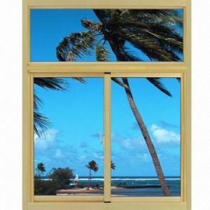 Aluminum Window with Sliding/Casement Style/Excellent Performance/Perfect Form/Efficient Energy Manufactures
