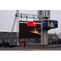 P10 outdoor Hanging LED Display SMD , RGB External led screen USB control Manufactures