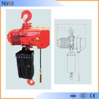 Hook Suspension Electric Chain Hoist With 360 Degree Rotatable Manufactures