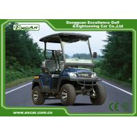 EXCAR 2 Seater Small Electric Buggy Golf Cart With PC Windshield Manufactures