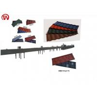 L Shape Roof Tile Roll Forming Machine 0.4mm Thickness CE ISO Certificated