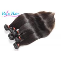 100% Unprocessed Tangle Free Brazilian Virgin Hair Extensions Black / Brown Manufactures
