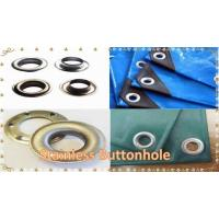 China Stainless Buttonholes/Brass Grommets/Aluminium Eyelet for Tarpaulin &Tent on sale