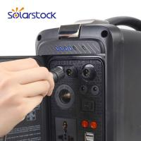 400W Mobile Emergency Solar Generator with Polymer Lithium Battery Manufactures