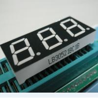 5 Inch 3 Digit Outdoor 7 Segment LED Display For Thermostate , Humidity Controller Manufactures