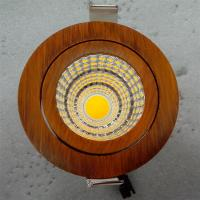 OEM timber wood housing color COB led downlight for lighting shop, museum, library, restaurant hotel project Manufactures