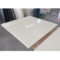 Pure White Kitchen Quartz Table Top 25.5 Inches Wide With Sink Hole Manufactures