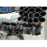China Concrete shotcrete machine spare rubber elbow made of black rubber high wear and corrosion resistance on sale