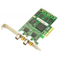 3G/HD/SD SDI Video Capture Card with loop output, 2 ports PCI-Express 1080p/60hz Manufactures