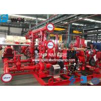 Skid Mounted Firefighting System Fire Pump Set 400GPM / 135PSI NFPA20 Standard Manufactures