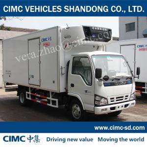 China ISUZU 4*2 JG5040XLC4 1.5Ton  RefrigeratedTrucksFor Sale Refrigerator Truck Body CKD on sale