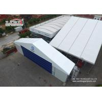 China 18x35m Temporary White Outside Party Tents , Aluminum Frame Custom Event Tents on sale