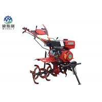Plough Cultivator Gas Powered Pull Behind Tiller , Red Small Garden Rototiller Manufactures