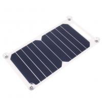 China Sunpower Flexible Solar Mobile Phone Charger 5W 6V PET Laminated Panel Material on sale