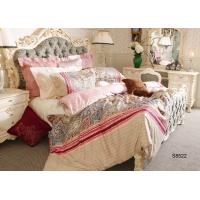 Elegance Printed Sateen Bedding Sets durable with Pillow Shams Sets Manufactures
