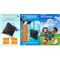 small waterproof gps kids tracker with panic button  Black LK910 Manufactures