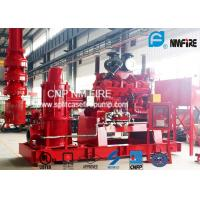 China NFPA20 Standard Vertial Diesel Engine Driven Fire Pump 5000GPM Capacity on sale