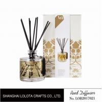 Home Decoration Rose Scented Reed Diffuser , Room Scent Diffuser Sweet Smelling Manufactures