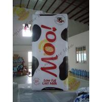 China Weather Resistant Inflatable Product Replicas Milk Packaging OEM Service on sale